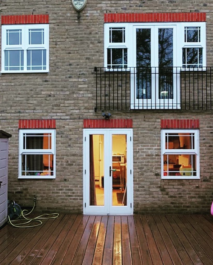 Timber Windows Front